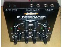 (reduced) analog JOMOX M-RESONATOR filter - 24 pole lowpass filter, feedback, FM, fx unit - RARE