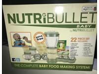 Nutri Bullet, the complete baby food making system