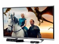 panasonic viera tx42ax630b led 3d smart with wifi build in. very good condition