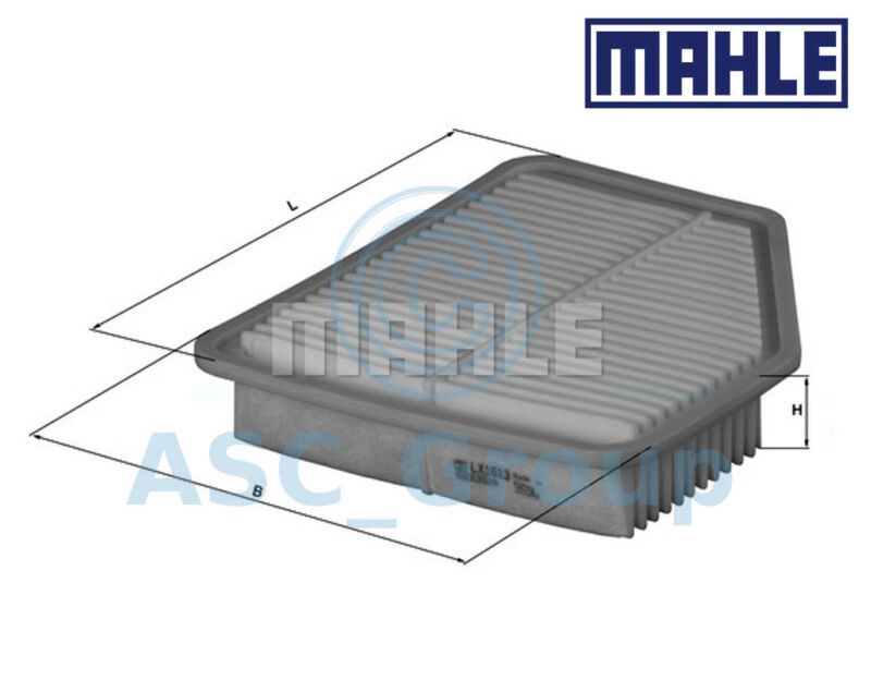 Mahle Air Filter Insert OEM Quality Replacement (Engine Intake) LX 1613
