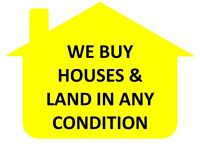 We Buy Houses & Land Quickly In Any Condition