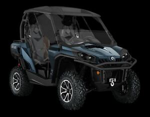2017 can-am Commander 1000 Limited $70.32/week (120 months@7.99%
