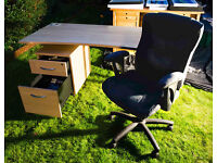 DESK • FILING CABINETS • FOR HOME OFFICE