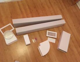 Wickes Extractor Ducting Kit - Unused but open box