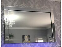 Glass mirror 32 inches by 47