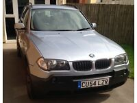 BMW X3 125,000 2005 BLUE