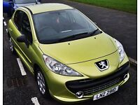 2008 Peugeot 207 1.4 Very Well looked after and clean MOT till end of May, Call Glen on number below