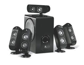Logitech X-530 5.1 Computer Speaker System