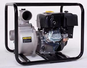 ON SALE   NEW 3 IN 6.5HP LIFAN HIGH FLOW GAS WATER PUMP RS80C TRASH WASTE DRAIN