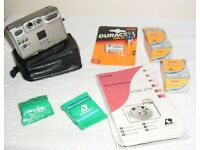 CANON IXUS Z50 film camera, complete kit (untested)