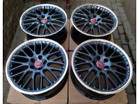 R19 BBS SPEEDLINE Alloy wheels * 2 piece Splits * OEM Genuine AUDI 5x112 RS861