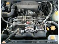 Subaru forester 2l engine and box
