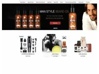 All things Beards, Balms, Brushes, Kits Dropshipping Business For Sale