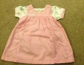 Beatrix Potter Baby Girls Outfit. 3-6 months