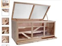 Brand new, been built my joiner, perfect for hamster, chinchillas, or tortoise.