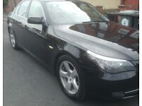 2 OWNER 2008 BMW 520d With Full Service History & long MOT