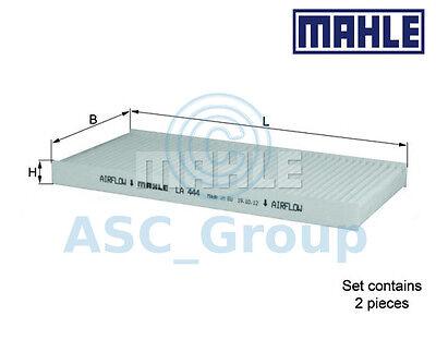 Genuine MAHLE Replacement Interior Air Cabin Pollen Filter LA 444S LA444S