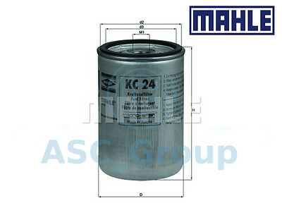 Genuine MAHLE Replacement Engine Screw-on Fuel Filter KC 24