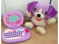 VTech Laptop and Interactive Bear