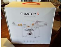 Brand New DJI phantom 3 professional drone with 4K camera and gimble