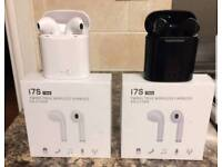 Wireless Bluetooth earphones - NEW