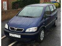 VAUXHALL ZAFIRA LIFE, 7 SEATER, 2005. TOWBAR, VERY CLEAN CAR THROUGHOUT - EXETER