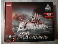 Asus Z170 Pro Gaming Motherboard with Intel i7 7700 3.6Ghz Kaby Lake CPU