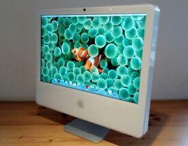 "Apple iMac G5 20"" OS X 10.5 Leopard with Adobe Photoshop"