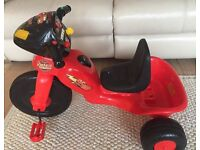 Disney Cars Racing Trike Pedal Ride On