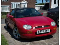 MGF 1.8 JUST THE JOB FOR SUMMER.