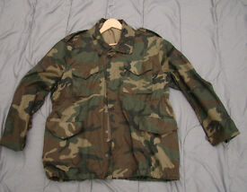 RARE - NEW - Croatian Army Woodland M65 Combat Field Jacket (un-issued) Size Large