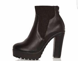 NEW heels boots