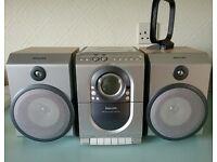 Philips MC150 Audio HI-FI Shelf System with remote control