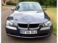 2006 56 BMW 318I FULL HISTORY! E90 3 SERIES NOT 318 320 330 *** SALVAGE DAMAGED CAT D***