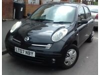 Black Manual Nissan Micra in excellent condition very economical usual Nissan reliability