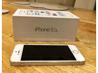 iPhone 5S 16gb unlocked in white
