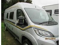 Auto-Trail Tribute 669 2016 Hi-Top Van conversion motorhome with 2-4 berth
