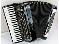 Bugari Armando Seniorfisa Accordion - 120 Bass - 4 Voice Musette with MIDI