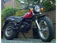 125 TW Yamaha Motorcycle