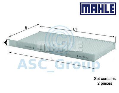 Genuine MAHLE Replacement Interior Air Cabin Pollen Filter LA 468S LA468S