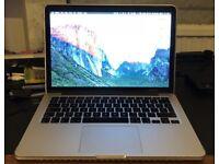 Macbook Pro Late 2013 (16GB RAM, 512GB SSD, 2.6GHz i5