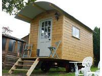 Shepherds hut, artists studio, spare room, office