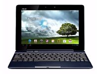 ASUS TF300T 10.1-inch Multitouch Tablet with Keyboard (Blue)