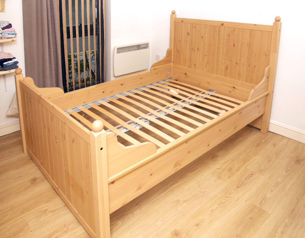 Ikea Hurdal Bed Frame Bought Brand New Only 6 Months Ago