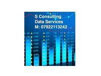 Data Services Consulting - Excel, SQL, Python, Tableau, Matlab, MySQL, Oracle, PostgreSQL