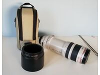 Canon zoom lens EF 100-400mm f4.5-5.6 L IS