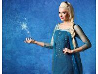The Snow Princess children's parties! Princess Party , Superhero kid's entertainers Berkshire