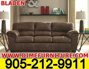 BLADEN Ashley's Leather look sofa