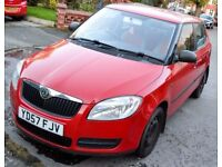 Skoda Fabia 1.2 petrol, long MOT low miles NEW shape cheap insurance