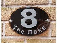 Door number plaque/sign